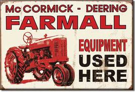 Refrigerator Magnet Farmall Equipment Used Here... - $3.25