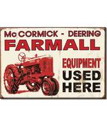Refrigerator Magnet Farmall Equipment Used Here McCormick-Deering - $3.25