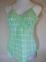 George Top Greens Sleeveless M (8-10)100% Cotto... - $14.84