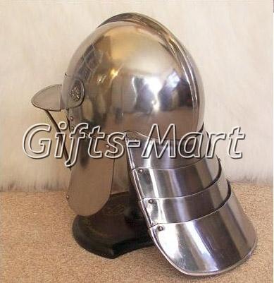 ENGLISH CIVIL WAR ECW LOBSTER POT CROMWELL HELMET Medieval Armor Fantasy Costume