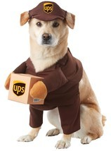 UPS Postal Service Pet | Dog Costume , Medium - Free Shipping - €17,00 EUR