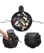 Travel Makeup Cosmetic Toiletry Case Wash Organizer Storage Pouch Drawst... - €9,26 EUR