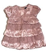 GAP Baby Girl's Tiered Dress Pink Size 6-12 months - $19.79