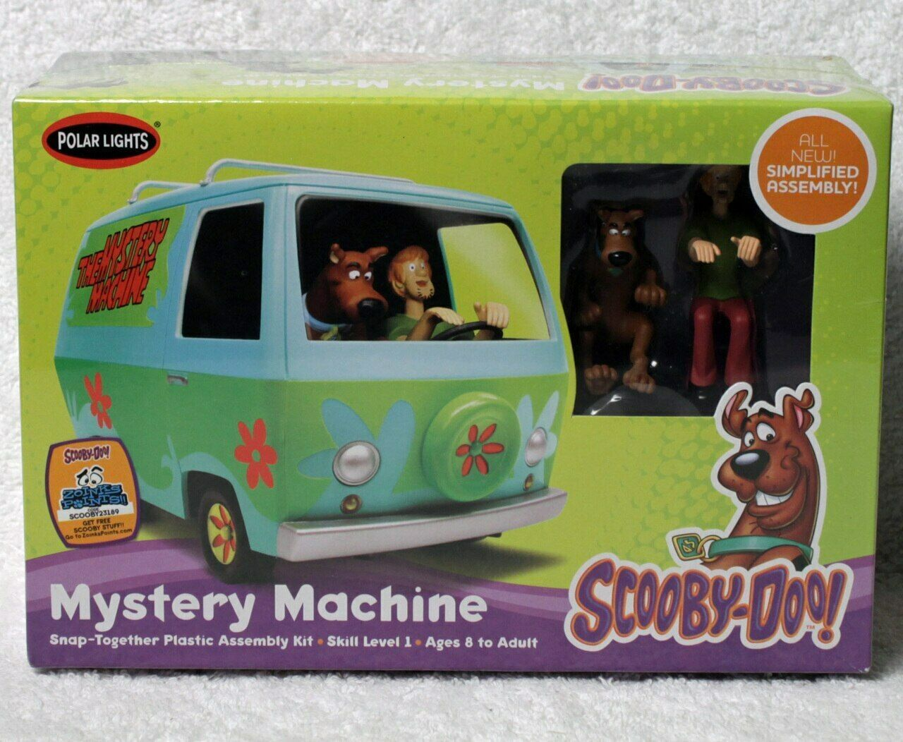 Scooby-Doo Mystery Machine 1:25 Snap-It Plastic Model Kit Polar Lights POL911 - $29.70