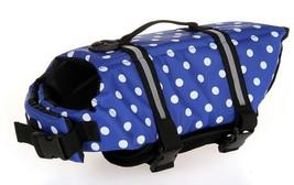 Dog life Jacket Safer Vest Swimming Jacket Flotation Float Jacket blue p... - $10.71+