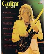 Guitar Player Magazine September 1974 Greg Lake Lenny Breau No Label - $27.90