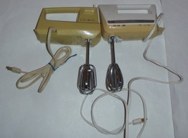 (2) Kitchen Dual Mixers Retro General Electric ... - $37.57
