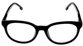 New Diesel Men Black Eyeglasses Frame Round DL5156 001 - $70.79