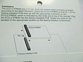 Soundtraxx # 881006 ECO-21PNEM For Steam Digital Sound Decoder image 4
