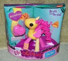 "Mini Lala-oopsies Horses 4.5""H MACADAMIA New - $7.88"