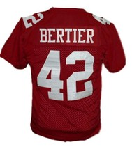 Bertier #42 T.C.Williams The Titans Movie New Football Jersey Maroon Any Size image 5