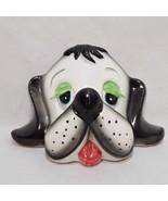 "Vintage Dog Head Spaniel Figurine A Mark L Exclusive Japan 2"" - $9.99"