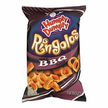 4 Bags Humpty Dumpty Ringolos BBQ LARGE Size 280g From Canada FRESH & TA... - $33.61