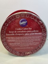 Wilton 18 Piece Metal Holiday Christmas Cookie Cutters New Gift - $14.83 CAD