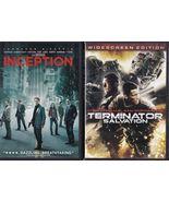 Inception (2010) & Terminator Salvation (2009) ... - $5.99