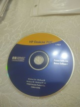 HP Deskjet 712C Printer Software - $4.99