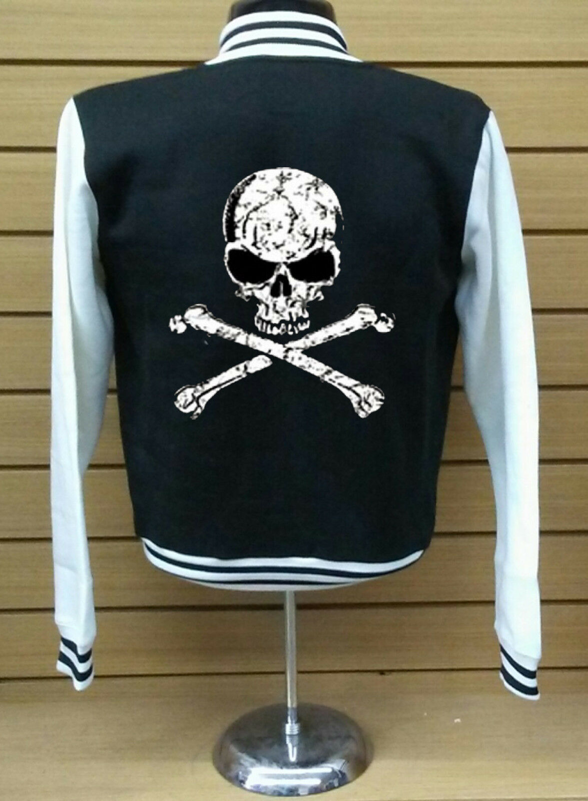 Primary image for Skull and Bones  FLEECE VARSITY JACKET