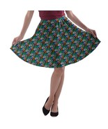 Women's Panda Doodle Printed Elastic Flared A-Line Skater Skirt Size XS-3XL - $28.99+