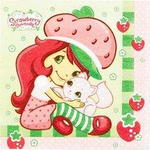 Strawberry Shortcake Party Luncheon Napkins - $9.79