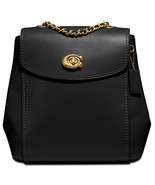 COACH Parker Convertible Backpack in Refined Leather 35568 ~NWT~ Black - $273.24