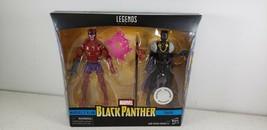 Marvel Legends Toys R Us Exclusive Black Panther Set Marvel's Klaw & Shuri NIP - $41.51
