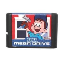 Fix It Felix Jr 16 bit MD Game Card For Sega Mega Drive For Genesis - $8.14
