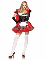 LEG AVENUE DIVINE MISS RED ADULT COSTUME VARIOUS SIZES BRAND NEW - $19.99