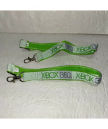 XBOX 360 Lanyard Key Holder Badge Holder Lot of 2 New - £3.86 GBP