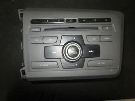 12 13 14 Honda Civic Sedan Radio Cd Player #39100-TR0-A71 - $74.25