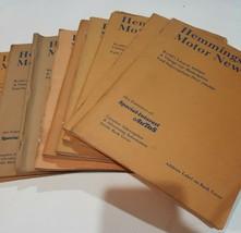 Lot of (9) Hemmings Motor News Magazine & Catalog, Ads for Old Cars-1974... - $39.59
