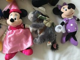 Disney Eeyore Pooh Minnie Mickey Plush Lot ... And Donald Too! image 3