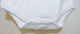 Blanks Boutique White Long Sleeve Bodysuit 0 To 3 Months Unisex image 2