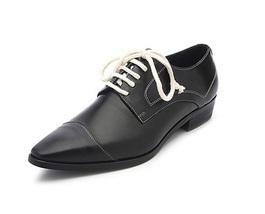 Handmade Men fashion Leather shoes, Men Black leather dress shoes, Mens ... - $169.99