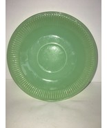 "VINTAGE FIRE KING JADEITE SAUCER KITCHEN ANCHOR HOCKING 5 3/4"" - $3.75"