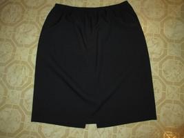 Navy Elastic Waist Skirt Size 22 W - $12.99