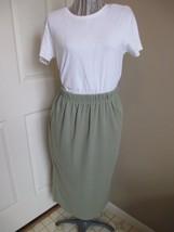Jenny Buchanan Sport Elastic Waist Skirt Medium - $7.99
