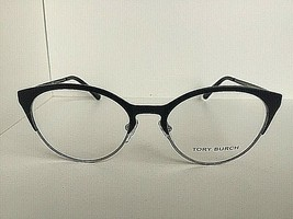 New TORY BURCH TY 1041 3050 Black 50mm Cats Eye Women's Eyeglasses Frame - $89.99