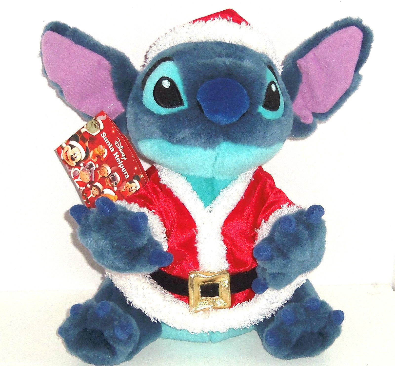 Christmas Toys Disney : Disney store stitch plush santa helpers suit christmas toy