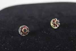 Vintage Costume Stud Earrings - $13.85