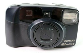 Vintage Pentax IQZoom 115-S 35mm Film Camera Panorama Zoom - $24.95