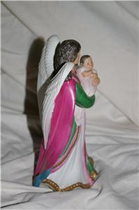 Home Interiors Angel with Baby Figurine #1436 Homco