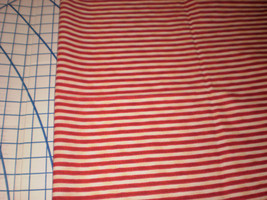 "Daisy Kingdom Raggedy Ann & Andy Narrow Leg Stripe Fabric 34"" Long htf - $24.95"