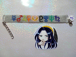 SM Inspired Planetary Symbols Handmade Flat Bracelet - $35.00