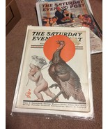 SATURDAY POST  LEYENDECKER Thanksgiving  November 25  1922 - $98.99