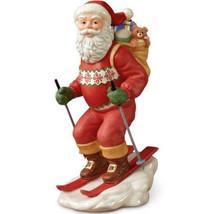 Lenox 2013 Santa's Downhill Dash Figurine Annual Claus Skiing Toys LE NE... - $48.80