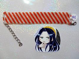 Candy Striper Handmade Flat Bracelet - $45.00