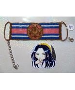 SM R Compact Handmade Flat Bracelet - $50.00