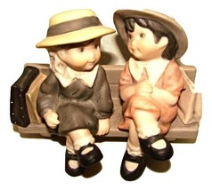 """We're Two of A kind"" Enesco porcelain Figures-1999-#678309 - $13.50"
