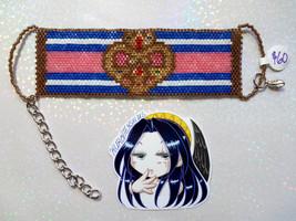 SM S Compact Handmade Flat Bracelet - $60.00