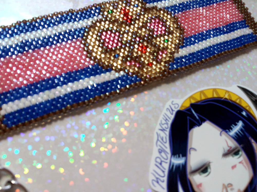 SM S Compact Handmade Flat Bracelet